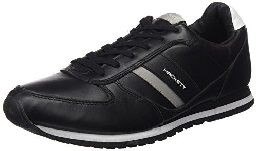 HACKETT Stockwood, Zapatos Hombre, Black, 42 EU