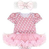 iiniim Bambina neonato tutù pagliaccetto Outfit Abbigliamento