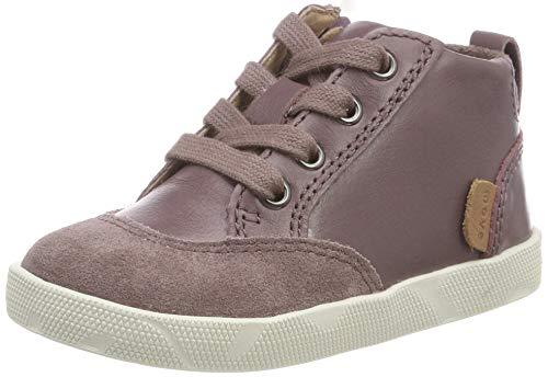 move Baby Mädchen Infant - Short lace Boot Sneaker Pink (Flint 735) 23 EU