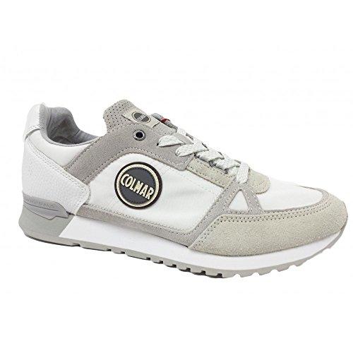 Colours Suede Colmar Travis Mesh Supreme 077 Blanc Sneakers QrdshCtx