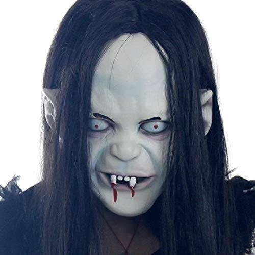 Zombie Ghost Face Kostüm - Halloween Maske Full Face Scary