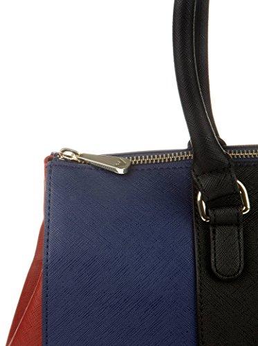Armani Jeans 922574cc857, shoppers Noir - Schwarz (NERO-TWIL.BLU-BURGUN 41920)