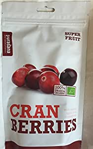 Purasana - Canneberge - Cranberries Bio Sachet Refermable - 200 G