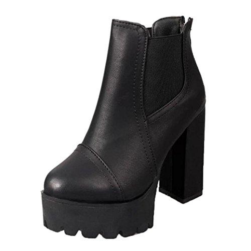 Jamicy Donna tacco alto piattaforma pelle Martin stivali scarpe Nero Códigos De Descuento Realmente Barato Explorar Comprar Barato 2018 Unisex 2018 Unisex Oficial Para La Venta pQaVpsZd