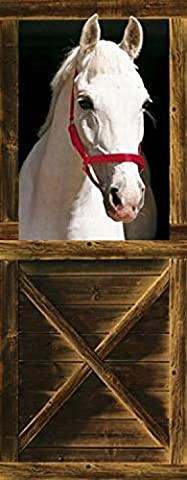 Set: Pferde, Sebastian Fototapete Poster-Tapete (200x86 cm) Inklusive 1x 1art1® Collection Poster