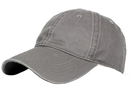 Emorias 1 Pcs Gorra de Beisbol Ocio Hombre Protector Solar Sombrero Mujer Primavera y Verano Boina Viajes Golf Accesorios - Gris