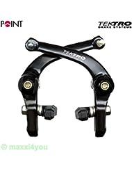 w01110109h Point Tektro BMX freno de U Type Freestyle Llanta freno trasero negro