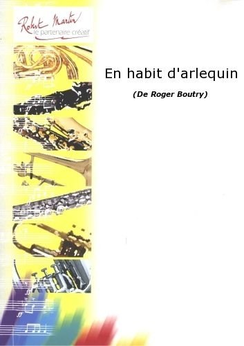 ROBERT MARTIN BOUTRY R    EN HABIT DARLEQUIN