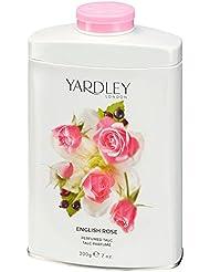 YARDLEY Rose Poudre de Talc 200 g