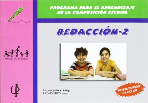 Redaccion 2 - programa para el aprendizaje de la composicion escrita (Atencion A La Diversidad)