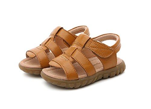 ALUK- Chaussures pour enfants - chaussures de plage respirantes d'été pour enfants chaussures décontractées pour bébés ( Couleur : Le jaune , taille : 27 ) Le jaune