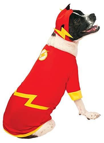 Rubies Costume DC Heroes and Villains Collection Haustierkostüm, Flash, L, - Hero Villain Kostüm