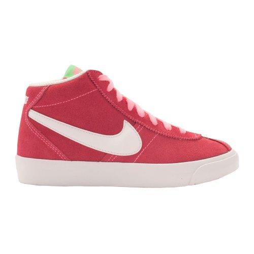 Nike - Nike Bruin Mid (GS) Scarpe Donna Rosa Pelle 577864 Fuchsia/gris