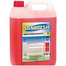 Jabon de manos saniwash espacial mecanicos 5 litros