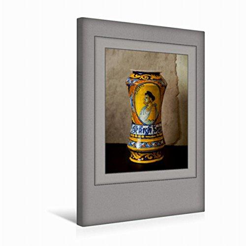 Premium Textil-Leinwand 30 cm x 45 cm hoch Ein Motiv aus Dem Kalender Arznei Fayencen | Wandbild, Bild auf Keilrahmen, Fertigbild auf Echter Leinwand, Leinwanddruck