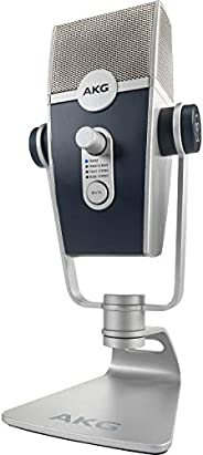 AKG Lyra Ultra-HD, Four Capsule, Multi-Capture Mode, USB-C Condenser Microphone for Calling, Recording and Str