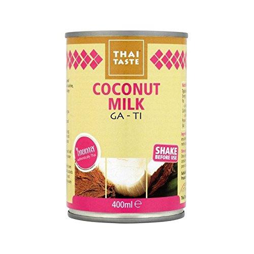 Goût Thai Lait De Coco 400Ml - Paquet de 6