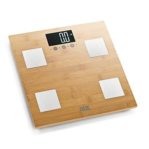 ADE Barbara. Tipo: Báscula personal electrónica, Capacidad máxima de peso: 150 kg, Precisión: 100 g. Pantalla: LCD, Tamaño de la pantalla (HxV): 83 x 45 mm. Ancho: 300 mm, Profundidad: 300 mm, Altura: 34 mm Exhibición -Pantalla: LCD -Pantalla fácil d...