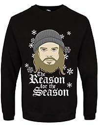 Sweat-shirt The Reason For The Season Noël Homme Noir