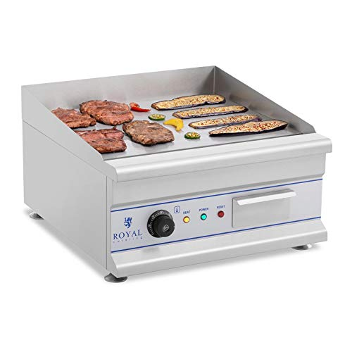 Royal Catering Fry Top Eléctrico RCG 50 50 cm