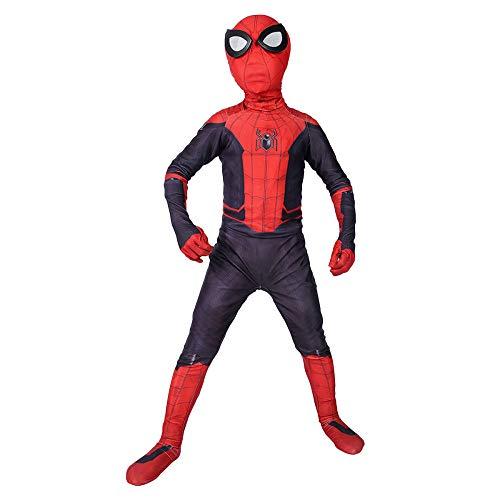 cb78fe6ded85 QQWE Spiderman Children Cosplay Costume Spider-Man Far From Home Fancy Dress  Costume Kids Bodysuit