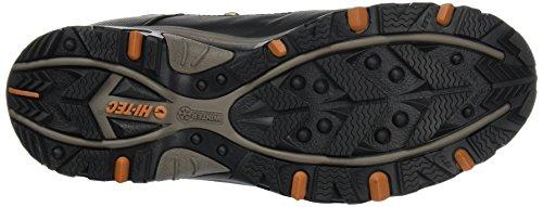 Hi-tec 400 jackson hole o 000752–041 homme trekkingstiefel/hikingstiefel/chaussures d'extérieur marron Noir-Marron