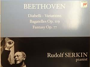 Beethoven:Var Diabelli/Bagatel