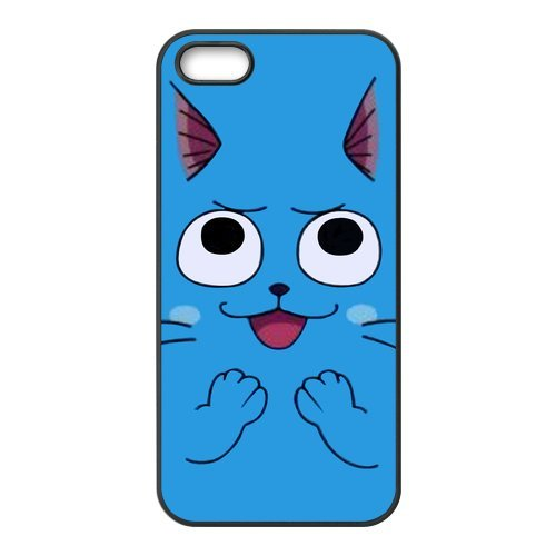 Rubber Étui de protection Case Cover Pour iPhone 5 5S Coque, Fairy Tail Housse Coque pour iPhone5, Soft en silicone skin Housse Coque Shell de protection pour iPhone 5 5S