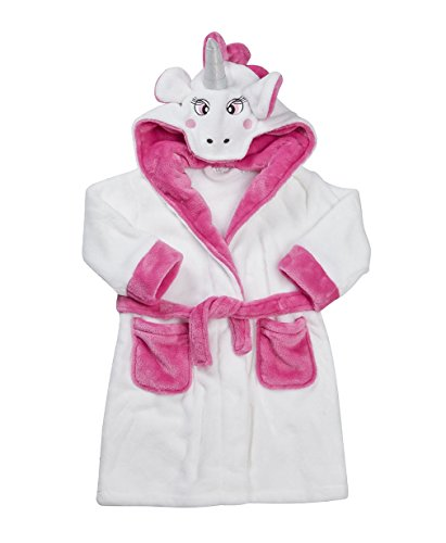 Girls-Thick-Soft-And-Cosy-Unicorn-Dressing-Gown-Robe