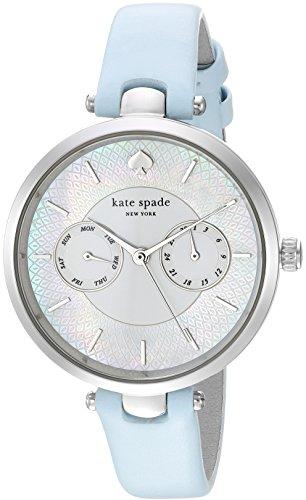 Kate Spade Femme Bracelet Cuir Boitier Acier Inoxydable Quartz Montre KSW1401