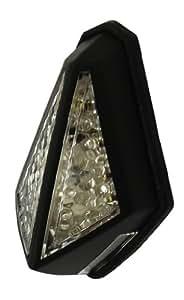 Vélo de LED de lumière/arrière arrêt/arrière plaque Blaze noir
