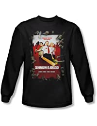 Shaun Of The Dead - Affiche shirt manches longues Men In Black -