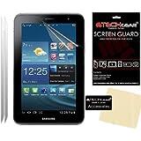 [Pack de 2] TECHGEAR® Samsung Galaxy Tab 2 7.0 P3100 avec Wifi & P3110 (7 Pouces) Film Protecteur d'Écran ANTI-REFLET / MAT Avec Chiffon de Nettoyage et Carte d'Application