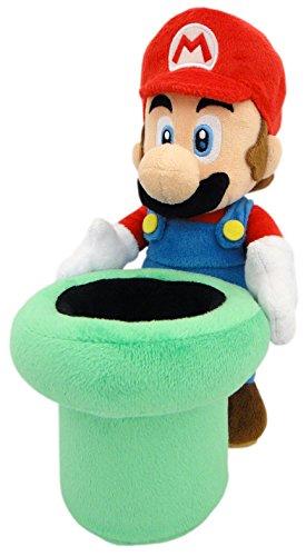 """Mario with Warp Pipe - Official Nintendo - 22cm 9"""""""