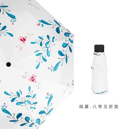 Taschenschirme,- automatische Schirm öffnen 10 Knochen Wind - Bild Schirm verstärkt Anti-Skid Griff ist einfach zu tragen (97 cm unter dem Dach),EIN