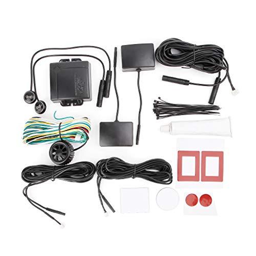 ECMQS Auto Blind Stelle Überwachung, BSD BSA BSM Radar Erkennung System Mikrowelle Sensor Assistent Auto Fahren Sicherheit -