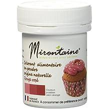 mirontaine colorant origine naturelle bio rougeros 10 g lot - Colorant Alimentaire Naturel Bio
