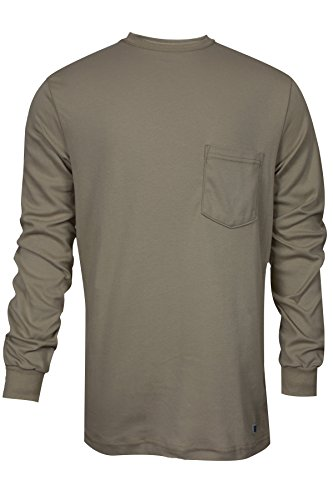 national-safety-apparel-c54pals2x-flame-resistant-classic-cotton-long-sleeve-t-shirt-2x-large-khaki-