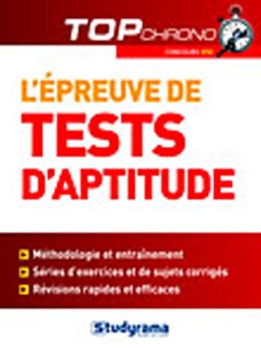 Tests d'aptitude IFSI