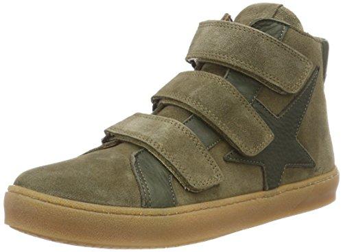 Bisgaard Unisex-Kinder 41814218 Hohe Sneaker, Grün (1002-1 Green Suede), 34 EU