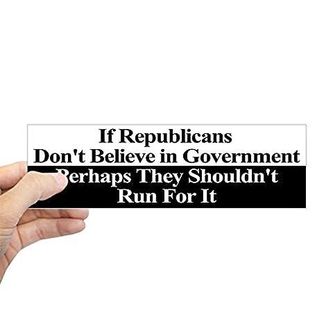 CafePress - Anti-Republican Bumper Sticker Sticker (Bumper) - 10