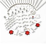 Nilfisk 42000202Zubehör für Staubsauger–Zubehör für Staubsauger (rot, weiß)
