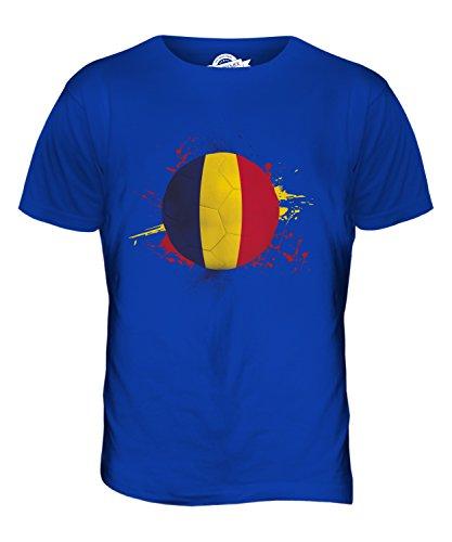 CandyMix Tchad Fußball Herren T Shirt Königsblau
