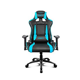 Drift DR150 – DR150BL – Silla Gaming, Color Azul