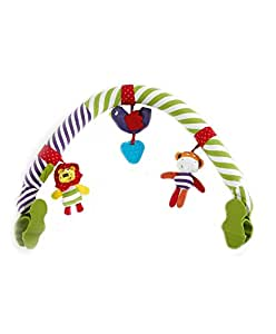 Mamas & Papas Babyplay Coconut Band Travel Arch Toy