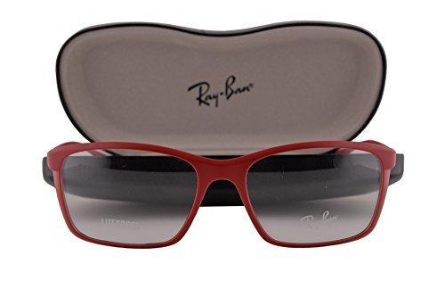 Ray-Ban RX7036 Eyeglasses 52-17-145 Matte Amaranth 5441 RB7036 RX 7036 RB 7036 image
