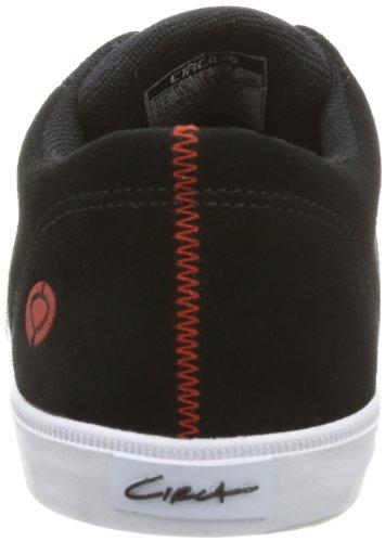 C1RCA DEL MONTE CDELMONTEBFOO Unisex-Erwachsene Sneaker Schwarz (Black/Formula One)