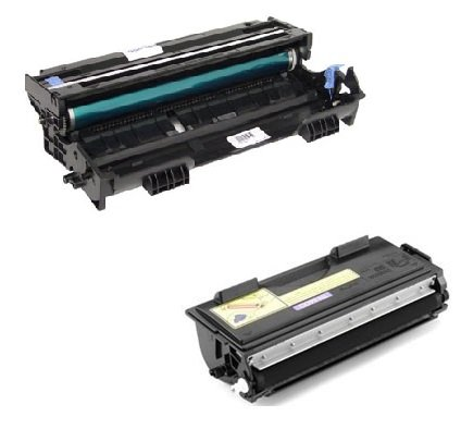 DR6000 Trommeleinheit & TN6600 Toner kompatibel mit Brother HL-1030, 1200, 1220, 1230,...