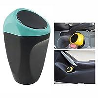 haoworld coche Auto Basura Basura puede Mini papelera de polvo caso soporte car-styling