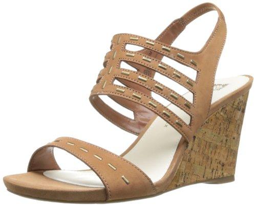 Anne Klein Trisa Femmes Marron Cuir Chaussures Pompes EU 41
